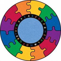 ABC Puzzle Rug