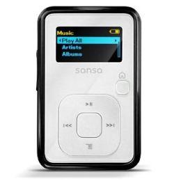 Clip Plus 4GB MP3 Player White