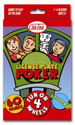Car Tag License Plate Poker