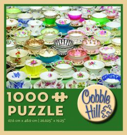Tea Cups 1000 Piece Puzzle