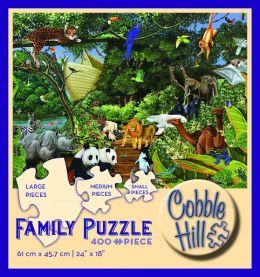 Noah's Gathering 400 Piece Family Puzzle