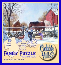 Frostys Friends 400 Piece Family Puzzle