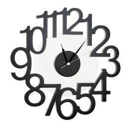 Black Rondo Wall Clock