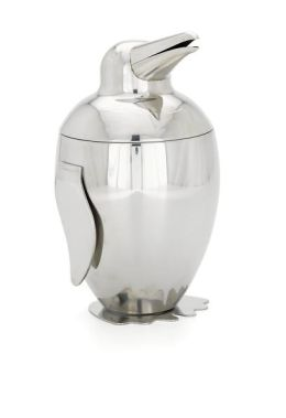 Axis Penguin Ice Bucket with Tongs