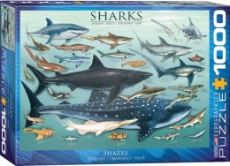 Sharks 1000 piece Jigsaw Puzzle