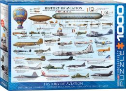 History of Aviation 1000 Piece Puzzle