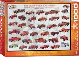Vintage Fire Engines 1000 piece Jigsaw Puzzle