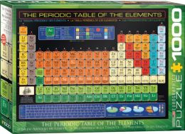 Periodic Table Of Elements 1000 pieces
