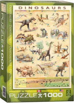 Dinosaurs 1000 piece Jigsaw Puzzle