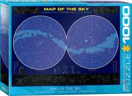 Map of the Sky 1000 Piece Puzzle