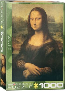 DaVinci Mona Lisa 1000 Piece Puzzle