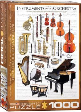 Instruments of the Orchestra 1000 Piece Puzzle