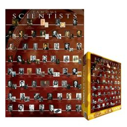 Famous Scientists 1000 Piece Puzzle