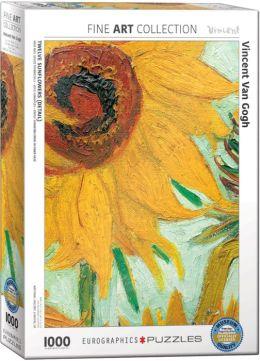 Van Gogh Twelve Sunflowers 1000 Piece Puzzle