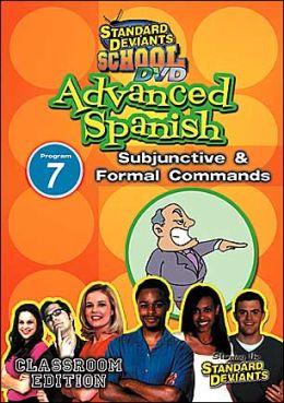 Standard Deviants School: Advanced Spanish, Program 7