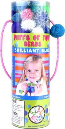 ''Brilliant Blue'' Puffs of Fun Bead Kit