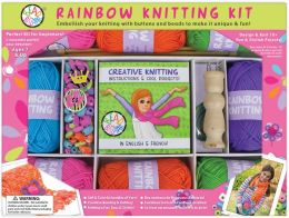 Rainbow Knitting Kit