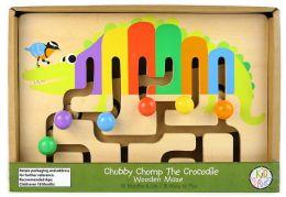 Chubby Chomp The Crocodile Wooden Maze
