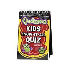 Quizmo Flip Book--Kids Know-it-All Quiz by Infinitoy | Barnes & Noble