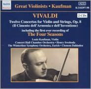 Vivaldi: 12 Violin Concertos Op. 8 (incl. the first ever recording of The Four Seasons)