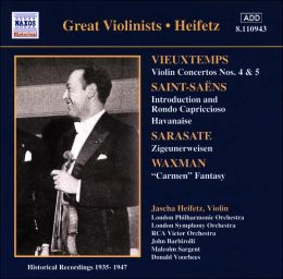 Great Violinists: Heifetz