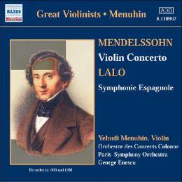 Mendelssohn: Violin Concerto / Lalo: Symphonie Espagnole