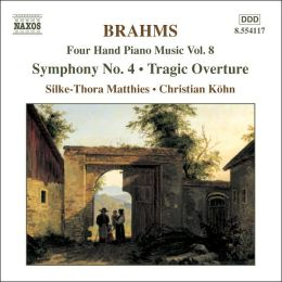 Brahms: Four Hand Piano Music, Vol. 8