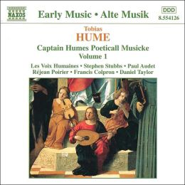 Captain Humes Poeticall Musicke 1 (Hume / Stubbs / Taylor)