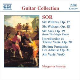 Sor: Guitar Music, Opp. 17-21