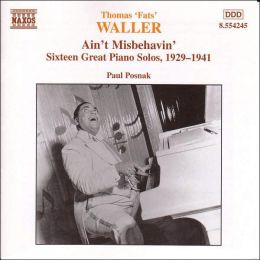 Fats Waller: Sixteen Great Piano Solos