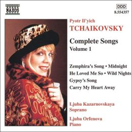 Tchaikovsky: Complete Songs, Vol. 1