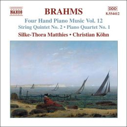Brahms: Four Hand Piano Music, Vol. 12