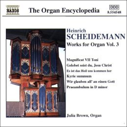 Scheidemann: Works for Organ, Vol. 3