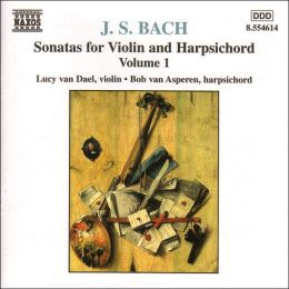 Bach: Sonatas for Violin and Harpsichord, Vol. 1