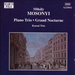 Mosonyi: Piano Trio in B Flat Major Op. 1