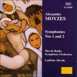 Symphonies 1 & 2 (Moyzes / Slovak Radio Sym Orch / Slovak)