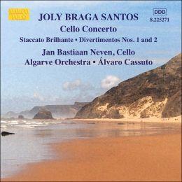 Joly Braga Santos: Cello Concerto; Staccato Brillante; Divertimentos Nos. 1 & 2