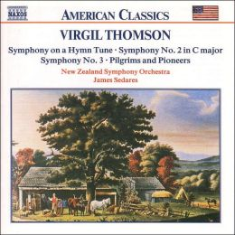 Thomson: Symphonies Nos. 1-3, Pilgrims and Pioneers