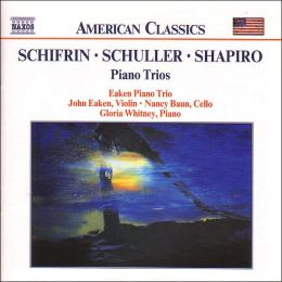 Schifrin, Schuller and Shapiro: Piano Trios