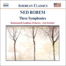 Rorem: Three Symphonies