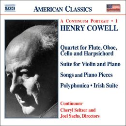 Henry Cowell: Instrumental, Chamber and Vocal Music, Vol. 1