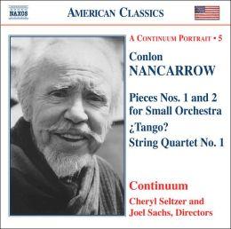Nancarrow: Pieces Nos. 1 & 2; ¿Tango?; String Quartet No. 1