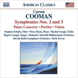 Carson Cooman: Symphonies Nos. 2 & 3
