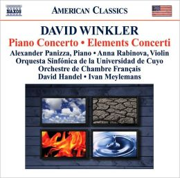 David Winkler: Piano Concerto; Elements Concerti