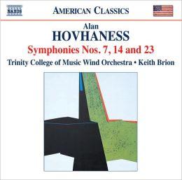 Hovhaness: Symphonies Nos. 7, 14 & 23