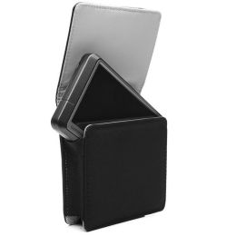 Premium Leather Case for 3.5-inch Garmin , TomTom and Magellan Portable GPS Navigation Units