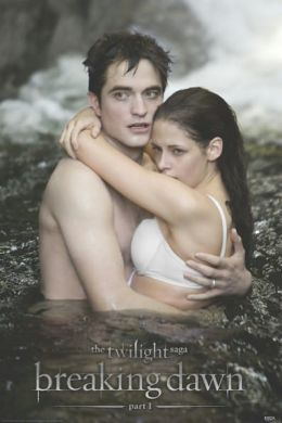 Twilight 4 - Edward & Bella in Water Poster