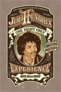 Jimi Hendrix - One Night Only - Poster