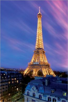 Eiffel Tower at Dusk - Poster