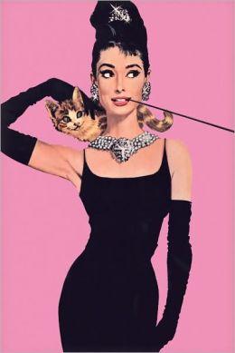 Audrey Hepburn - Pink - Poster